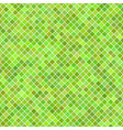 diagonal square pattern background from green vector image vector image
