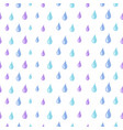 drops pattern rain water seamless texture vector image vector image