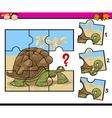 education game cartoon vector image