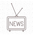 news tv and media design vector image vector image