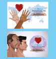 stop racism international day poster vector image vector image