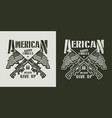 vintage american special forces emblem vector image vector image