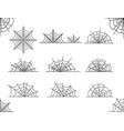 web set isolated on white vector image