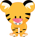 Stuffed Tiger vector image