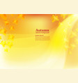 abstract background for autumn vector image vector image