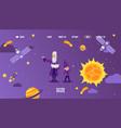 astronomy website for children vector image