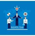 Business team Businessman successful teamwork vector image