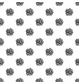 daisy rose pattern seamless vector image