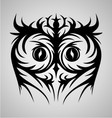 Owl Face Tribal vector image vector image