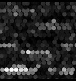 seamless black texture with sequins vector image vector image