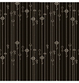 seamless pattern with keys hanging on chains vector image