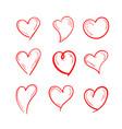 set love design vector image vector image