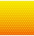 Star seamless background Yellow and orange color vector image vector image