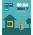 turnkey vector image vector image
