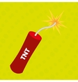 explosive cartoon design vector image vector image