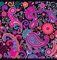 PATTERN violet cucum vector image
