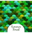 Summer Forest Scaly Texture vector image