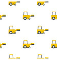 yellow truck to lift cargo pattern flat vector image vector image