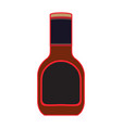 barbecue sauce bottle vector image