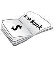 Book Bank vector image vector image