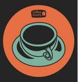 coffee shop 2 vector image vector image