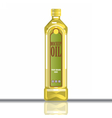 Digital yellow olive and sunflower oil vector image vector image