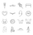 education sport animal and other web icon in vector image vector image