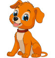 funny child dog vector image vector image