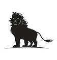 lion standing vector image