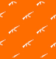 submachine gun pattern seamless vector image vector image