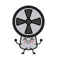 air fan ventilation cute kawaii cartoon cute vector image vector image
