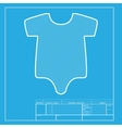 Baby sign White section of icon on vector image vector image