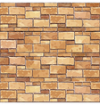 Brown brick wall seamless background vector | Price: 1 Credit (USD $1)