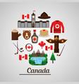 canada country american vector image vector image