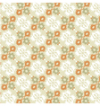 ottoman seamless pattern color version vector image