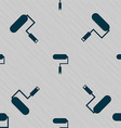 Paint roller sign icon Painting tool symbol vector image vector image