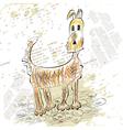 sketch of dog vector image