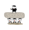 Whose Success vector image