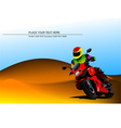 al 0817 motorcycle vector image