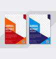 business flyer brochure design size a4 template vector image vector image