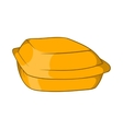 Food container icon cartoon style vector image vector image