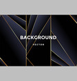 luxury abstract background with golden lines vector image