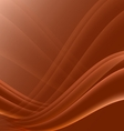 Orange and black waves modern futuristic abstract vector image