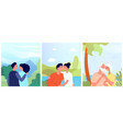 people in love posters loving person romantic vector image