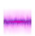 Pink sound wave on white background EPS8 vector image