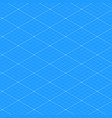 isometric blueprint grid seamless pattern texture vector image