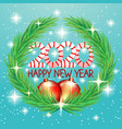 2020 happy new year greetings vector image vector image