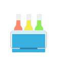 drinks in a small vector image