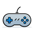 game controller design concept vector image vector image