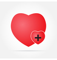 heart in Care vector image
